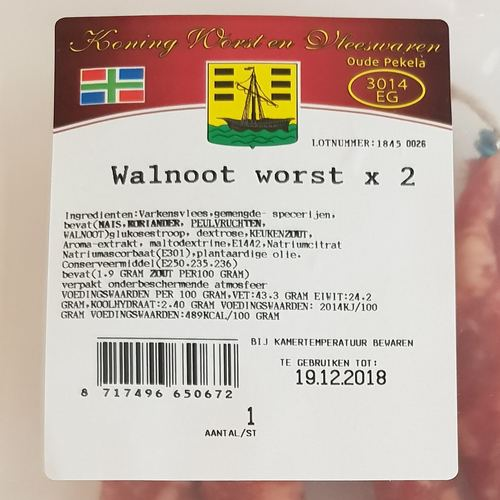 Walnoot Worst